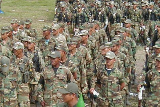 AGC fortalecen estrategia militar social en Jiguamiandó