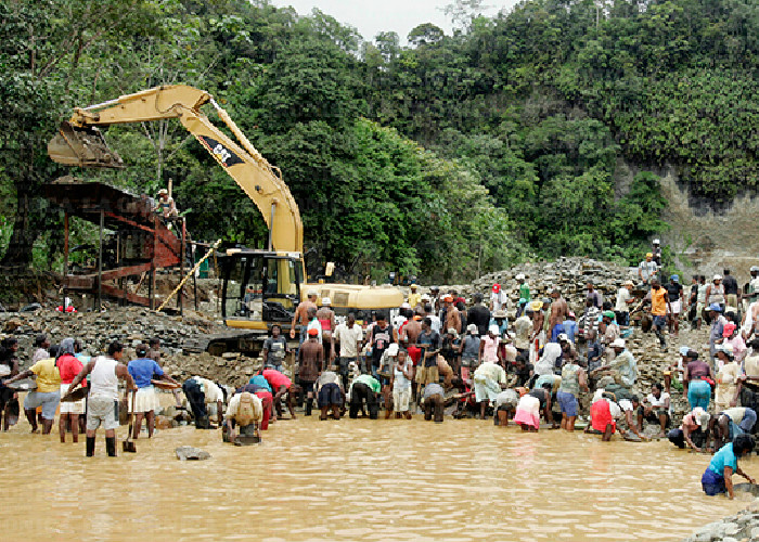 Saqueo y bandas paraestatales contra el Chocó