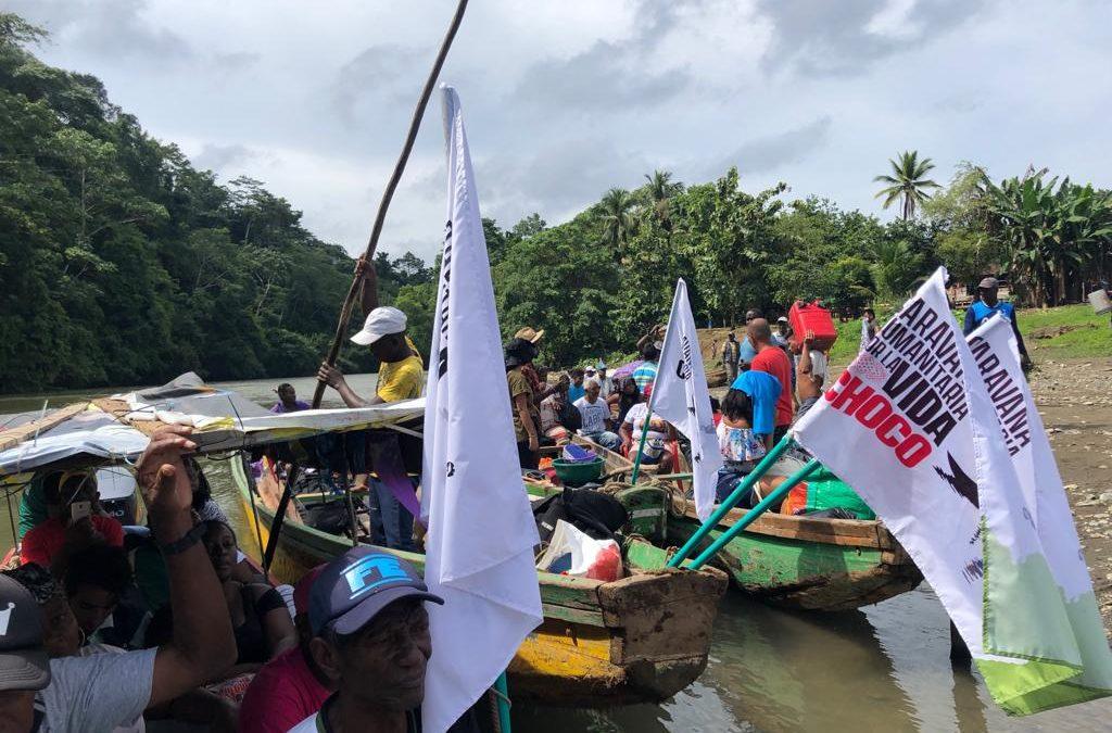 """Hallazgos de la Caravana Humanitaria """"Por La Vida"""" Bajo Atrato, Chocó- Colombia"""